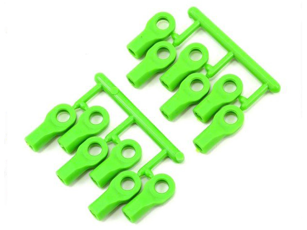 RPM Short Rod Ends Green (12) RPM80474
