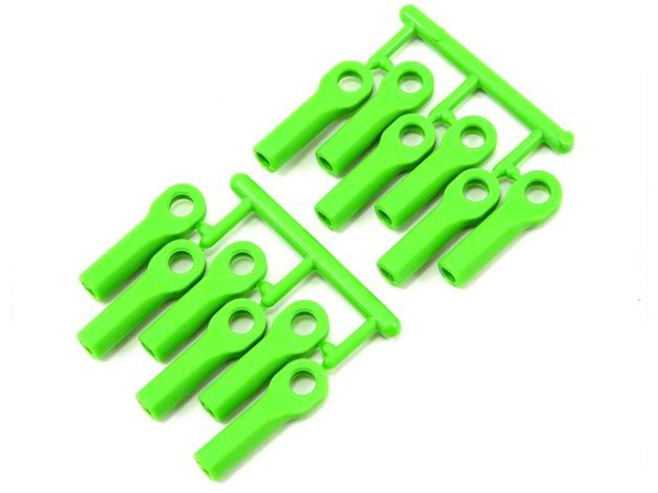 RPM Long Rod Ends Green (12) RPM80514