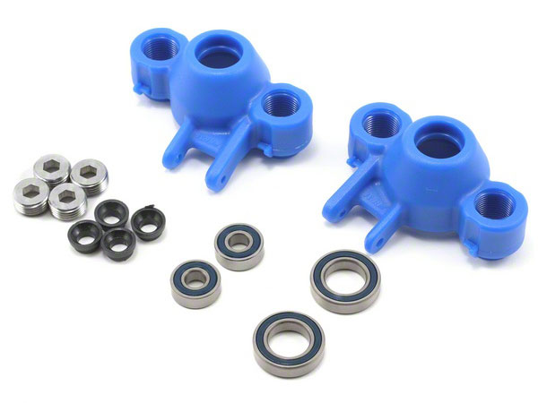 RPM Axle Carriers And Oversized Bearings - Blue RPM80585