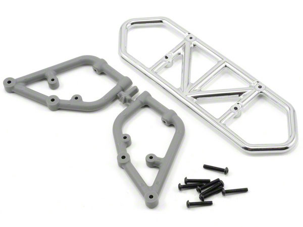 RPM Rear Bumper for the Traxxas Slash 2wd - Chrome RPM81003