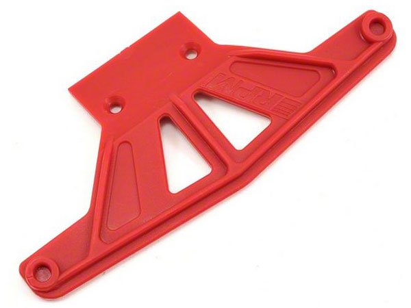 RPM Wide Front Bumper - Red- For Traxxas Models RPM81169