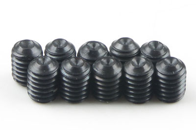 Kyosho Metallic Grub Screws 3x4mm (10) S53004