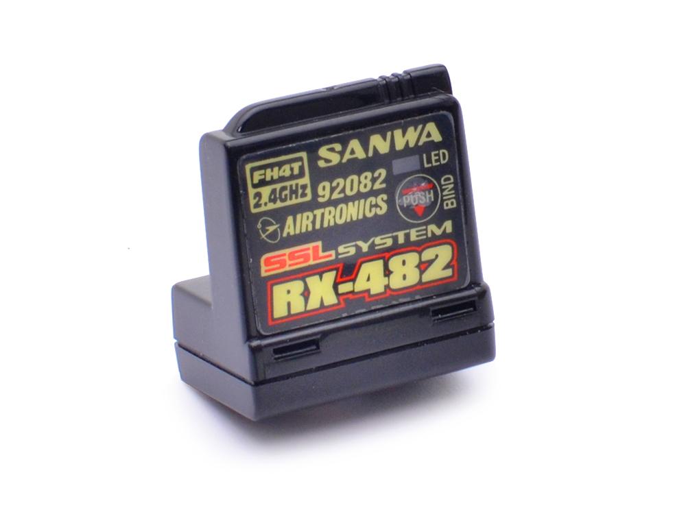 Sanwa Rx 482 Telemetry Ssl Receiver Sa107a41257a
