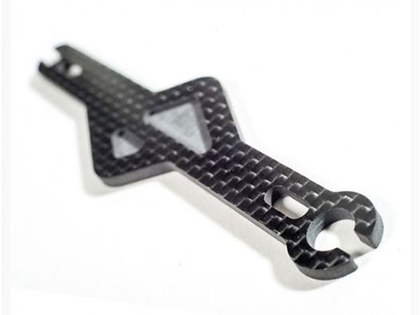 Schelle Racing Carbon Shorty Battery Strap for the Associated B44.3 SCH1103