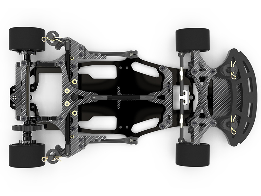 Schumacher ATOM 2 1/12th GT12 Circuit Car - Carbon Fibre K184