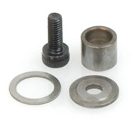 Schumacher Pinion End Cap, Screw & Spacer U2956