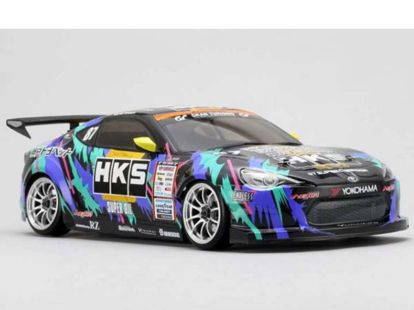 Image Of Yokomo HKS Racing Performer 86 Clear Drift Body Set