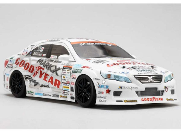 Image Of Yokomo GoodYear Racing GRX130 Mark X Clear Drift Body Set