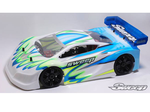 Sweep P1L GT 1:8 On Road Clear Body  SD0002