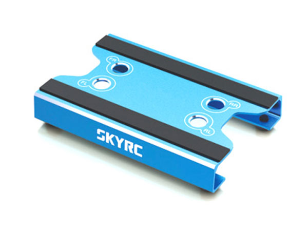 SkyRC Car Stand for 1/10 and 1/12th Scale - Blue SK-600069-09