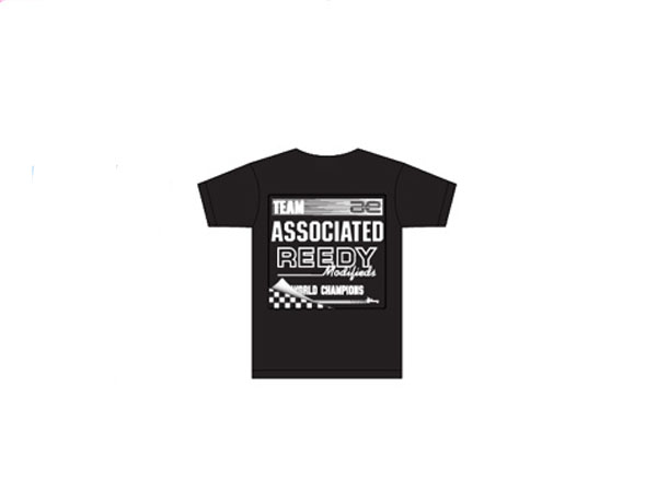Image Of Associated 80's T-Shirt - Black (Large)