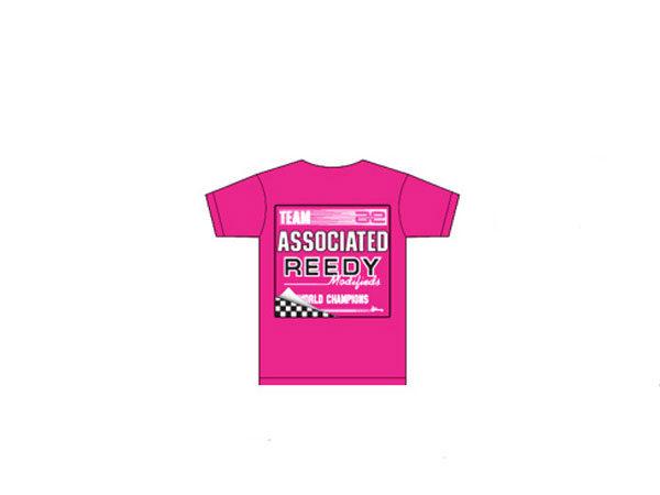 Image Of Associated 80's T-Shirt - Pink (X-Large)