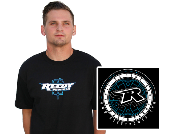 Reedy Medallion T-Shirt Black (Large) SP112L