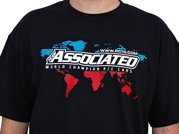 Image Of Associated AE International T-Shirt - Black (S)