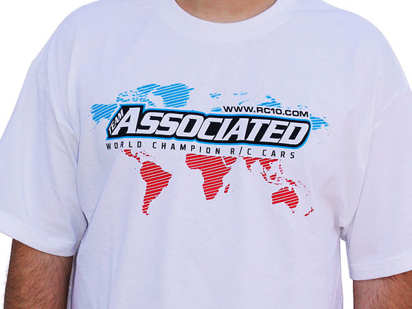 Associated  AE International T-shirt - White (XXL) SP18XXL