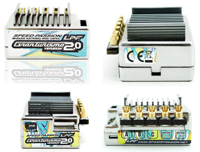 Image Of Speed Passion GT2.0 LPF V2.0 ESC - Silver