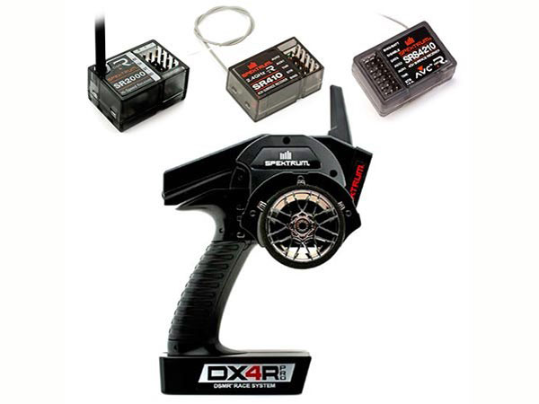 Image Of Spektrum DX4R Pro 4 Channel DSMR Racing System & Free SRS4210 Receiver