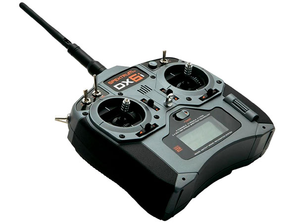 Image Of Spektrum DX6i DSMX 6 Channel Radio System with AR610 Receiver