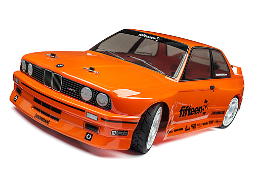 HPI Bmw M3 E30 Body (painted/orange/200mm) 114645
