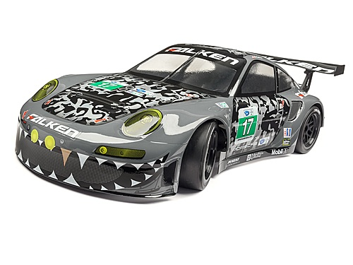 HPI Falken Porsche 911 Gt3 Rs Body (painted/gray/200mm 114643