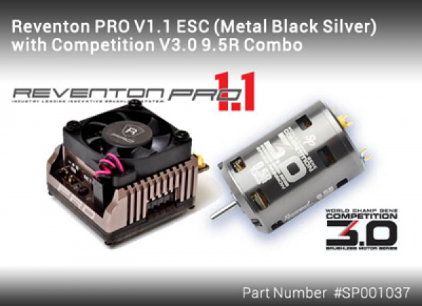 Speed Passion Reventon Pro V1.1 ESC Comp V3.0-10.5R Combo SP001038