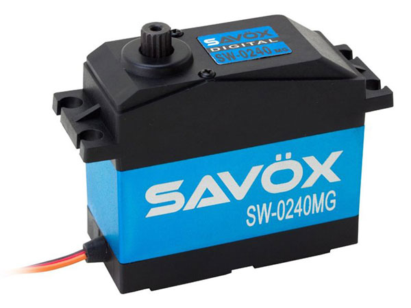 Savox SW0240MG Waterproof Jumbo High Voltage Digital Servo SAV-SW0240MG