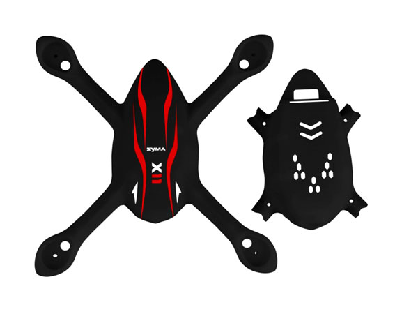 Syma X11C Main Body Set - Black SYSX11C-01C