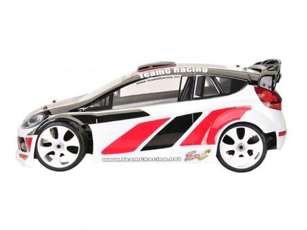 Image Of Team C Rally Body Polycarbonate Clear - GT8LE-RA