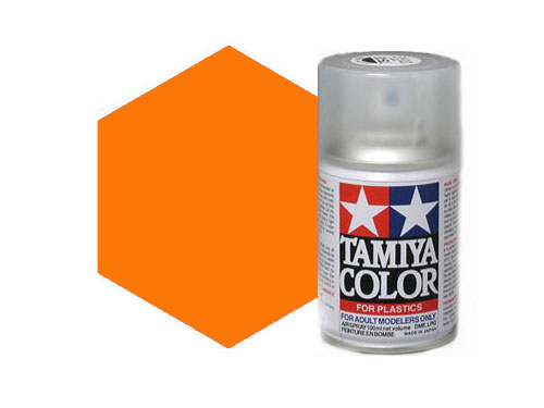 Tamiya Ts 92 Metallic Orange Acrylic Spray 85092