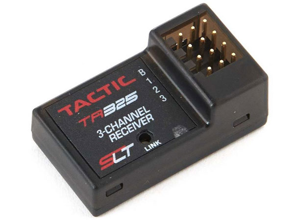 Tactic RC TR325 3Ch 2.4GHz Receiver TACL0325
