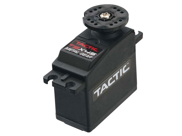 Tactic RC TSX45 Standard High-Torque Metal Gear 2BB Servo TACM0245
