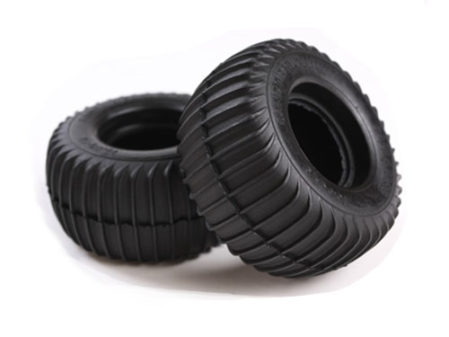 Image Of Tamiya Padlatrak Rear Tyres - Grasshopper