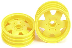 Tamiya Fighter Buggy RX Front Wheels 0555080