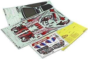 Tamiya Decals A & B For 58373 9495489