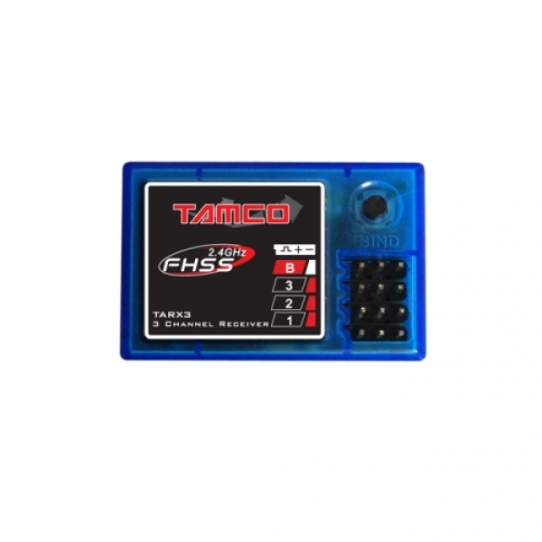Image Of Tamco RC 2.4GHz FHSS 3ch Receiver
