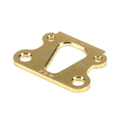 Team Losi Racing 22 25 degree Brass Kick Angle Shim TLR1049