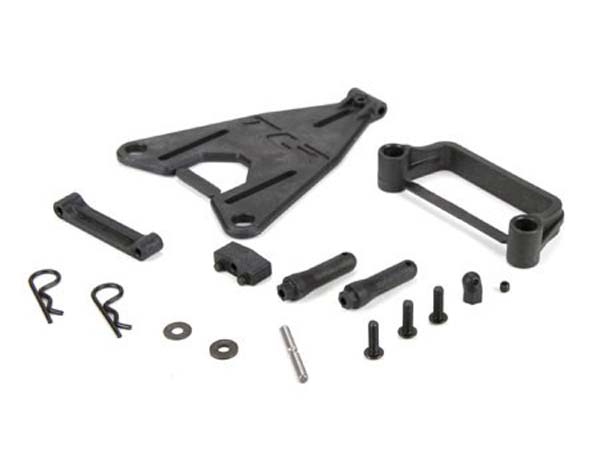 Team Losi Racing Battery Mount Set: 22 3.0 TLR231040