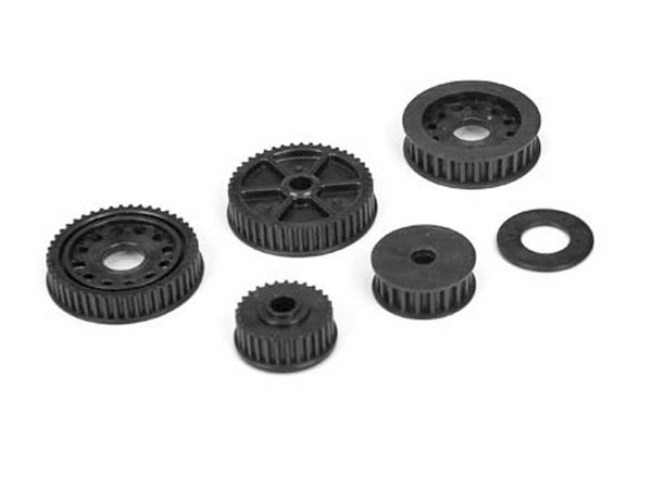 Team Losi Racing 22-4 Drive & Differential Pulley Set TLR232024