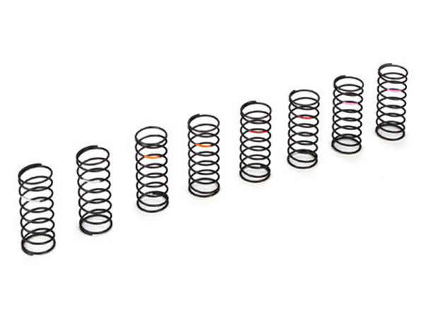 Team Losi Racing 22 Low Frequency Front Spring Set (8) TLR233012