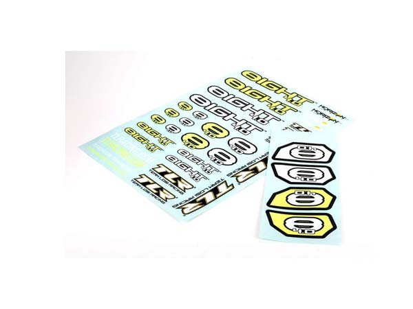 Team Losi Racing 8IGHT 4.0 Logo Sticker Sheet TLR249003