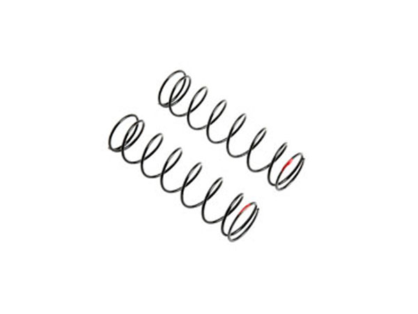 Team Losi Racing Rear Spring 6.1 lb Rate Red: 5IVE B TLR253007