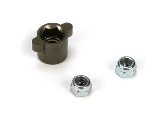 Team Losi Racing 22 Aluminium Diff Nut Holder TLR2948