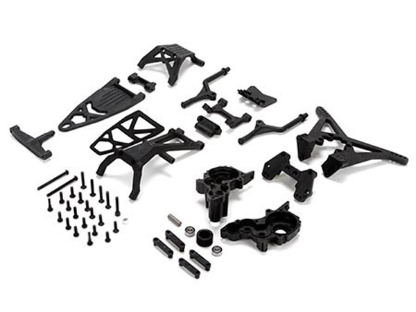 Team Losi Racing 22T and 22SCT Mid Motor Conversion Kit TLR338001