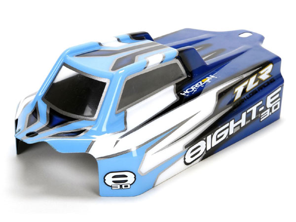 Team Losi Racing Cab Forward Body (Clear) 8E 3.0 TLR340002