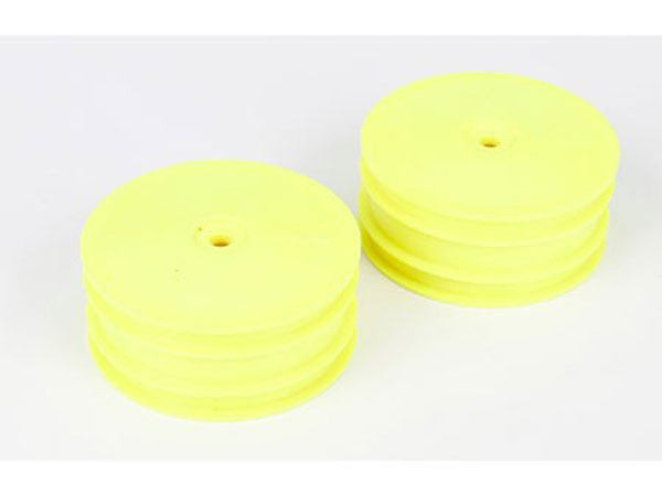Team Losi Racing 22-4 Yellow Front Wheel (2) TLR43004