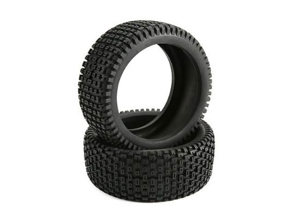 Team Losi Racing 5ive-B Tire Set Firm (2): 5IVE B TLR45002