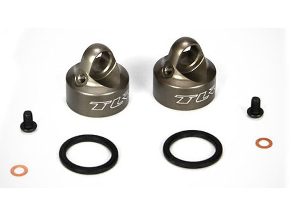 Team Losi Racing 22/22T Bleeder Shock Cap Set (2) TLR5065