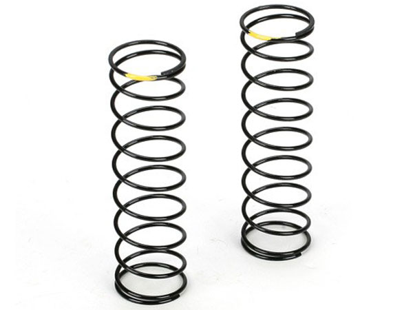 Team Losi Racing 12mm Rear Shock Spring 2.0 Rate (Yellow) (2) TLR5167