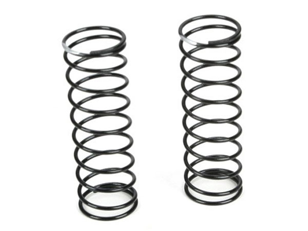 Team Losi Racing 12mm Rear Shock Spring 3.4 Rate (Silver) (2) TLR5171