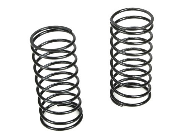 Team Losi Racing 12mm Front Shock Spring 4.1 Rate (Black) (2) TLR5177